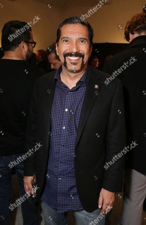 Steven Michael Quezada seen at 'The Book of Life' - An Exhibit of the art inspired by the upcoming film, on Monday, Feb, 24, 2014 in Beverly Hills