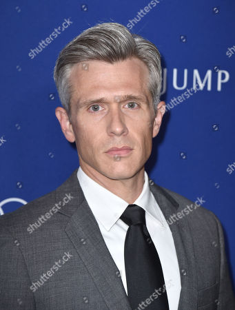 Nate Clark arrives at the 18th annual Costume Designers Guild Awards at the Beverly Hilton hotel, in Beverly Hills, Calif