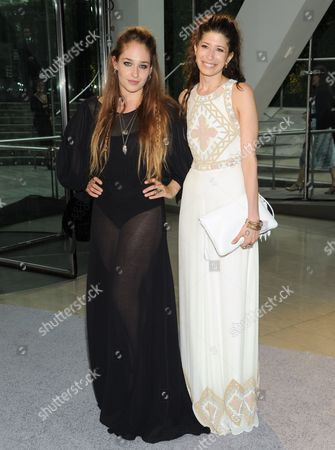 Actress Jemima Kirke, left, and designer Pamela Love attend the 2013 CFDA Fashion Awards at Alice Tully Hall on in New York