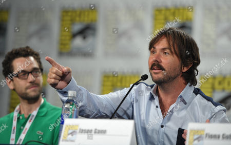 """Actor Jason Gann attends the FX """"Wilfred"""" panel on Day 2 of Comic-Con International on in San Diego, Calif"""