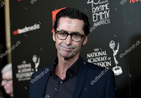 Stock Picture of Kirk Fox arrives at the 40th Annual Daytime Emmy Awards, in Beverly Hills, Calif