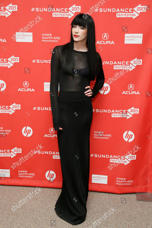 "Stock Picture of Songwriter Audrey Napoleon poses at the premiere of ""The Necessary Death of Charlie Countryman"" during the 2013 Sundance Film Festival on in Park City, Utah"