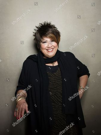 "Singer Tata Vega from the film ""Twenty Feet from Stardom"" poses for a portrait during the 2013 Sundance Film Festival at the Fender Music Lodge on in Park City, Utah"