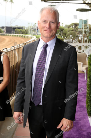 Kenny Mayne attends day 1 of the 2014 Breeders' Cup World Championships at Santa Anita Park, in Arcadia, Calif