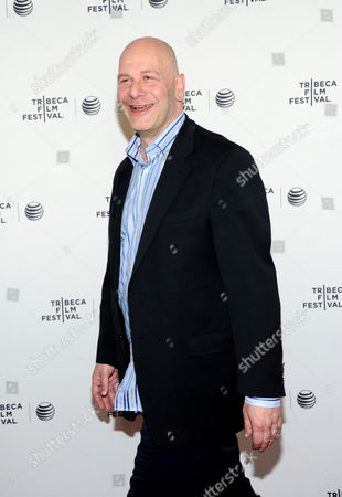 """Lou DiBella attends the """"Champs"""" Tribeca Talks after screening event, during the 2014 Tribeca Film Festival, at the SVA Theatre on in New York"""