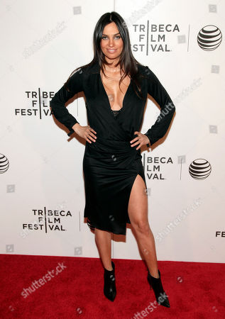 "Actress Alina Puscau attends the world premiere of ""X/Y"" at the 2014 Tribeca Film Festival, in New York"