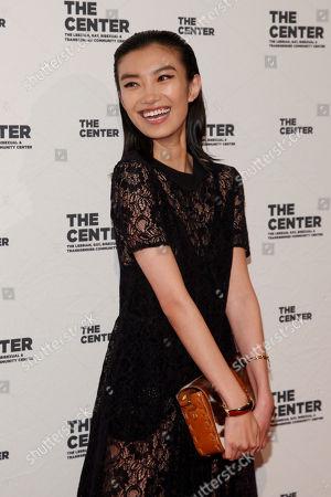 Editorial photo of 2015 Center Dinner Benefit Gala, New York, USA