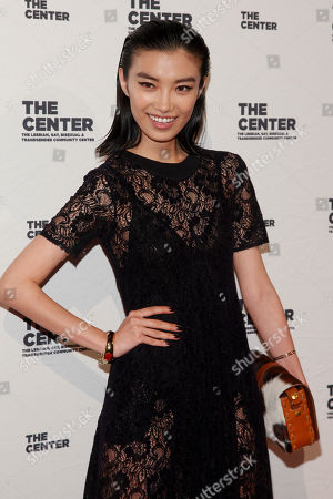 Sissi Hou attends the 2015 Center Dinner benefit gala at Cipriani's Wall Street, in New York