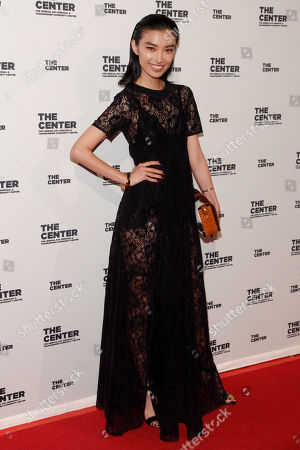 Stock Image of Sissi Hou attends the 2015 Center Dinner benefit gala at Cipriani's Wall Street, in New York