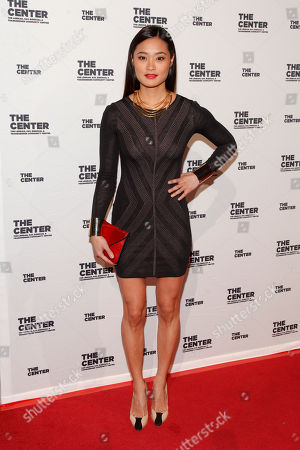 Jarah Mariano attends the 2015 Center Dinner benefit gala at Cipriani's Wall Street, in New York