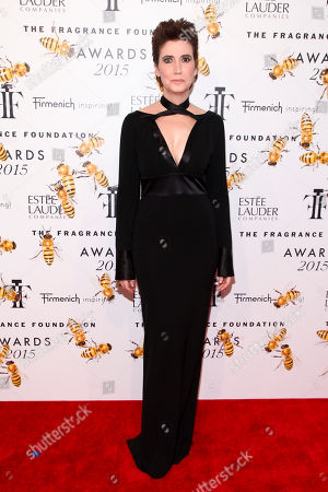 Elizabeth Musmanno attends the Fragrance Foundation Awards at Alice Tully Hall, in New York