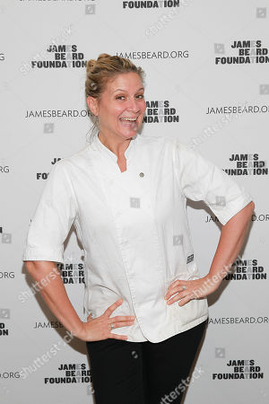 Chef Amanda Freitag seen at the New York, New York: 2015 James Beard Foundation Gala at the Rainbow Room on in New York