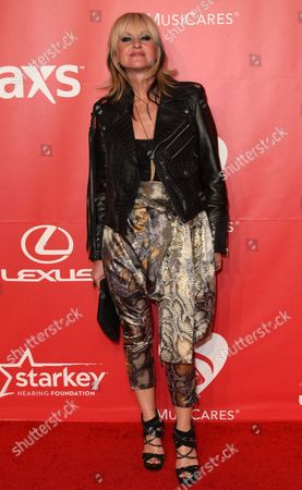 Mindi Abair arrives at the 2015 MusiCares Person of the Year event at the Los Angeles Convention Center on in Los Angeles