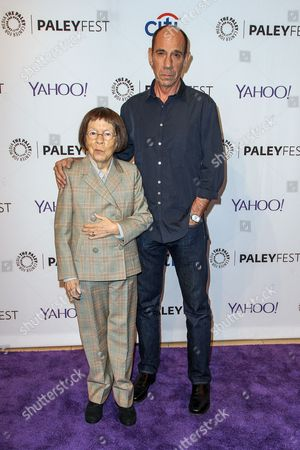 Linda Hunt, left, and Miguel Ferrer attend the at 2015 PaleyFest Fall TV Previews at The Paley Center for Media, in Beverly Hills, Calif