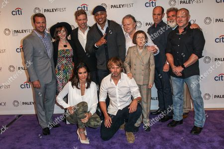 From left, (back row) Chris O'Donnell, Renee Felice Smith, Barrett Foa, LL Cool J, Shane Brennan, Miguel Ferrer, John P. Kousakis, R. Scott Gemmill, (front row) Daniela Ruah, Eric Christian Olsen, Linda Hunt attend the at 2015 PaleyFest Fall TV Previews at The Paley Center for Media, in Beverly Hills, Calif. (Photo by Paul A. Hebert/Invision/AP)From left, (back row) Chris O'Donnell, Renee Felice Smith, Barrett Foa, LL Cool J, Shane Brennan, Miguel Ferrer, John P. Kousakis, R. Scott Gemmill, (front row) Daniela Ruah, and Eric Christian Olsen attend the at 2015 PaleyFest Fall TV Previews at The Paley Center for Media on Friday, Sept. 11, 2015, in Beverly Hills, Calif