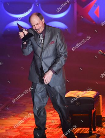 Honoree Bobby Braddock performs at the 46th Annual Songwriters Hall Of Fame Induction and Awards Gala at the Marriott Marquis, in New York