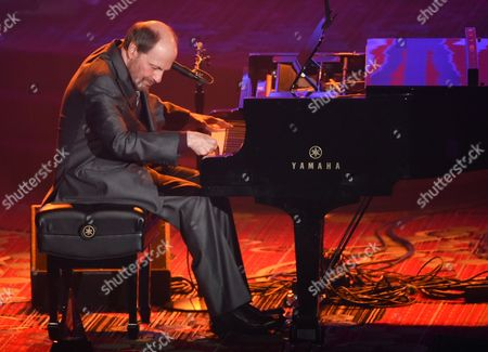 Stock Picture of Honoree Bobby Braddock performs at the 46th Annual Songwriters Hall Of Fame Induction and Awards Gala at the Marriott Marquis, in New York