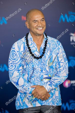 """Actor Temuera Morrison arrives at the 2016 AFI Fest - """"Moana"""" World Premiere at El Capitan Theatre, in Los Angeles"""
