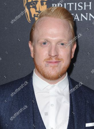 Stock Picture of Owain Rhys Davies arrives at the BAFTA Los Angeles Britannia Awards at the Beverly Hilton Hotel, in Beverly Hills, Calif