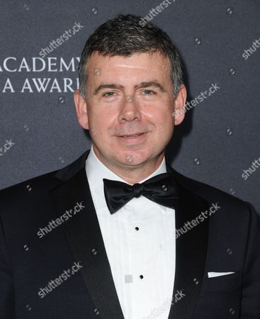 Nicholas Martin arrives at the BAFTA Los Angeles Britannia Awards at the Beverly Hilton Hotel, in Beverly Hills, Calif