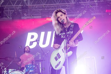 Alicia Bognanno of Bully performs at Bonnaroo Music and Arts Festival, in Manchester, Tenn