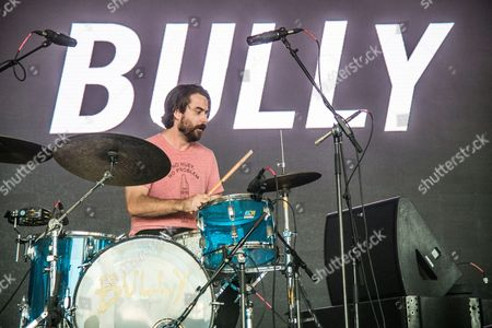 Stewart Copeland of Bully performs at Bonnaroo Music and Arts Festival, in Manchester, Tenn