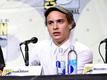 "Frank Dillane attends the ""Fear the Walking Dead"" panel on day 2 of Comic-Con International, in San Diego"