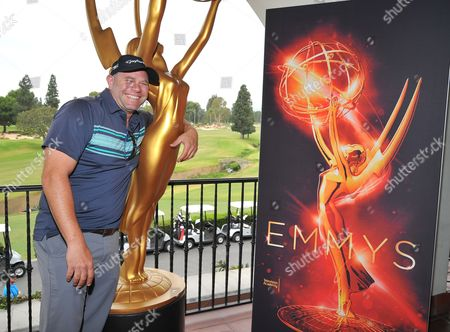 Domenick Lombardozzi attends the 2016 Emmys Golf Classic presented by the Television Academy Foundation at the Wilshire Country Club, in Los Angeles