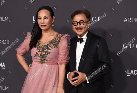 Eva Chun Chow and Michael Chow arrive at the 2016 LACMA Art + Film Gala on in Los Angeles