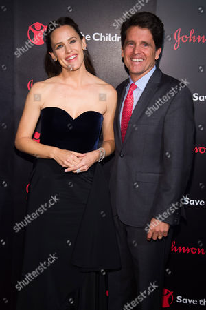 Jennifer Garner and Mark Shriver attend the 4th Annual Save the Children Illumination Gala at The Plaza Hotel, in New York