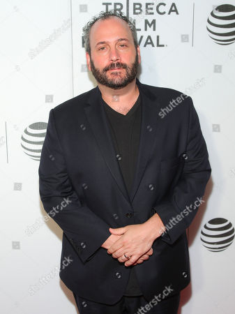 """Aaron Gilbert attends Tribeca Talks After the Movie: """"Special Correspondents"""" during the 2016 Tribeca Film Festival at John Zuccotti Theater at BMCC Tribeca Performing Arts Center, in New York"""