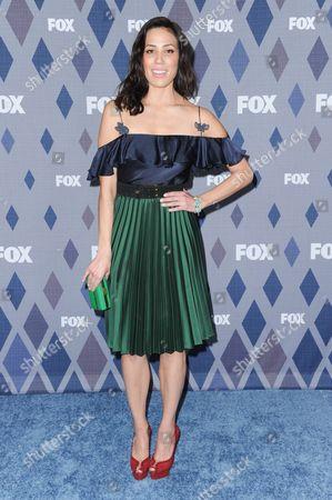 Michaela Conlin attends the FOX All-Star Party at the Fox Winter TCA, Pasadena, Calif