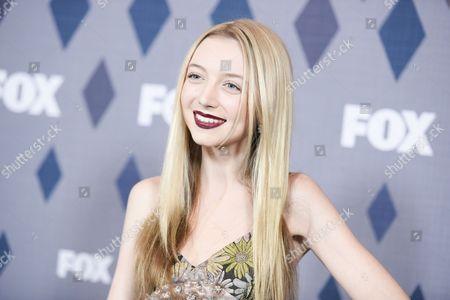 "Actress Hana Hayes participates in the ""Houdini & Doyle"" panel at the Fox Winter TCA, Pasadena, Calif"