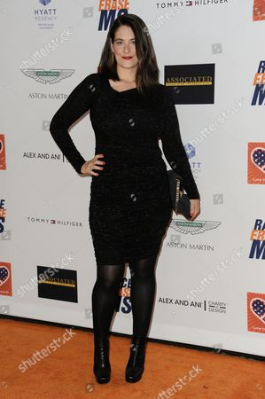 Clementine Ford arrives at the 22nd Annual Race To Erase MS Event held at the Hyatt Regency Century Plaza Hotel, in Los Angeles