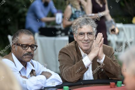 Stock Picture of Elliot Gould, right, andTed Lange attend the 3rd Annual SAG Foundation Poker Classic on Saturday, Aug. 24 in Los Angeles