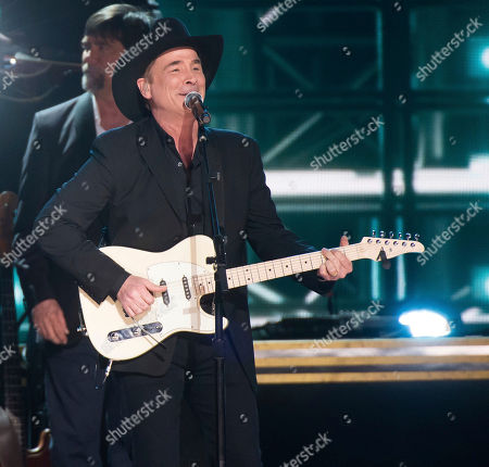 "Clint Black performs ""Killin' Time"" during the 50th annual CMA Awards at the Bridgestone Arena, in Nashville, Tenn"