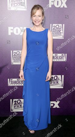 Stock Picture of Cathryn de Prume arrives at the Fox Searchlight Golden Globes afterparty at the Beverly Hilton Hotel, in Beverly Hills, Calif