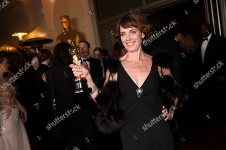 Dana Perry attends the Governors Ball after the Oscars, in Los Angeles