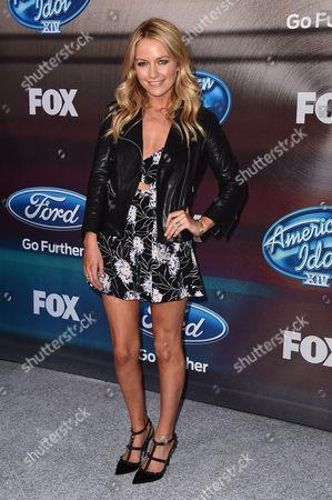 Editorial photo of American Idol XIV Finalists, Los Angeles, USA