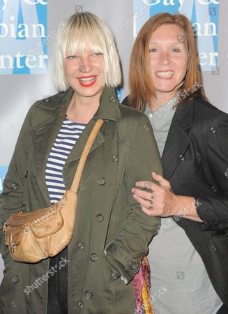 """Sia Furler and Patty Schemel attend """"An Evening With Women"""" on in Los Angeles, Calif"""