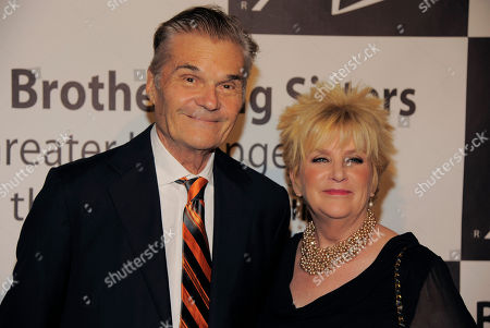 Fred and Mary Willard pose together at the Big Brothers Big Sisters of Greater Los Angeles' 2013 Rising Stars Gala at the Beverly Hilton Hotel on in Beverly Hills, Calif