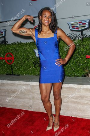 Chantae McMillan attends the BODY at ESPYs party held at Milk Studios on in Los Angeles