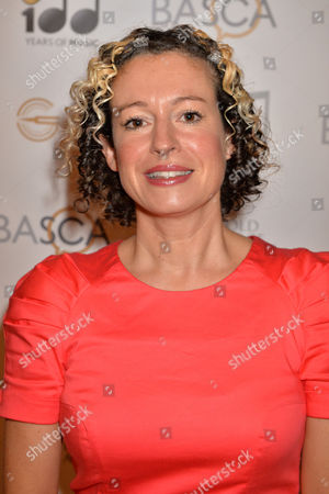 Stock Picture of Folk singer Kate Rusby at the British Academy of Songwriters Composers and Authors Gold Badge awards at the Savoy in London
