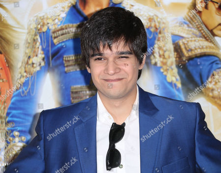 Stock Image of Actor Vivaan Shah poses for photographers during a photo call for the film, Happy New Year-SLAM, at the Montcalm hotel in central London