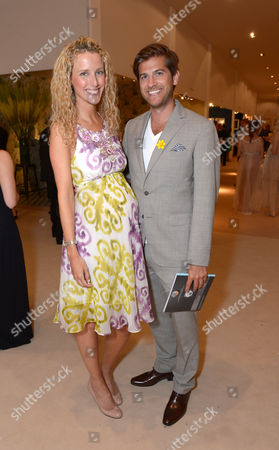 Kate Freud, Jack Freud are seen at the The Masterpiece Marie Curie Party in London on