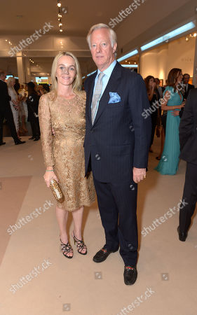 Mark Thatcher is seen at the The Masterpiece Marie Curie Party in London on