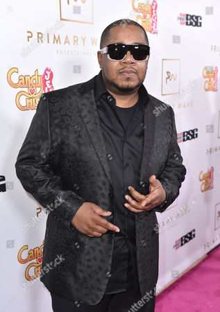 Twista arrives at the Candy Crush Jelly Saga - Primary Wave Pre-Grammy Party at The London Hotel, in Los Angeles