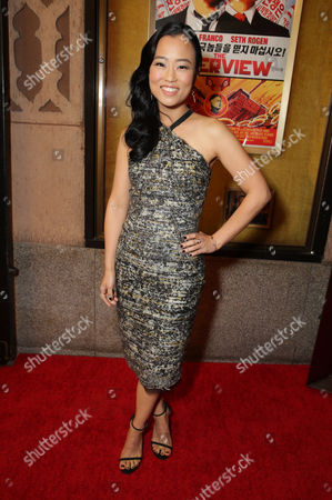 """Diana Bang seen at Columbia Pictures World Premiere of """"The Interview"""", in Los Angeles"""