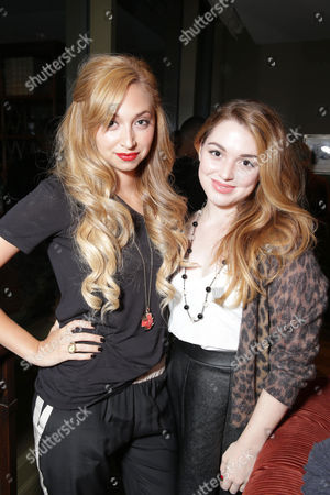 Lissa Lauria and Jennifer Stone are seen at Columbia Pictures' 'White House Down' Special Screening, on in Los Angeles