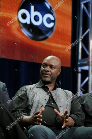 "Robert Wisdom attends the ""Nashville"" panel at the Disney ABC TCA Day 2 at the Beverly Hilton Hotel, in Beverly Hills, Calif"